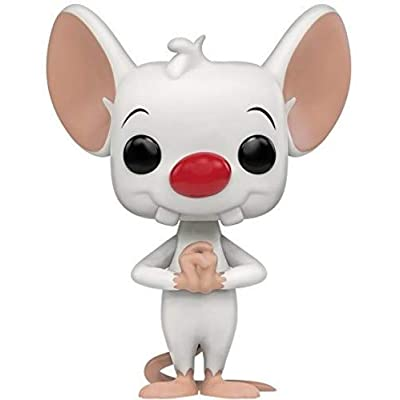 Funko Pinky & The Brain - Pinky Pop Animation Figure: Funko Pop! Animation:: Toys & Games