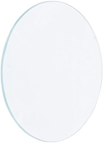 Ajax Scientific Polished Glass Double Lenses Spherical (Bi-convex), 50mm Diameter, 200mm Focal Length
