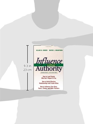 Influence Without Authority 2nd Edition Allan R Cohen David L
