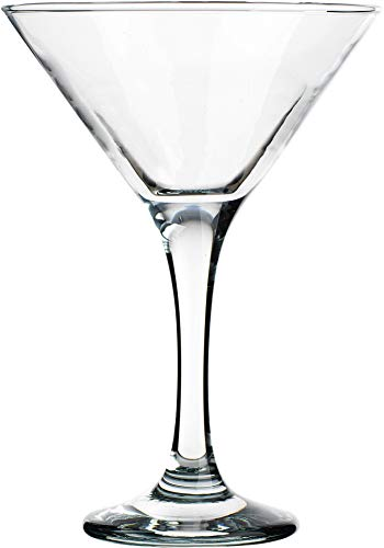 (Palais Contemporary Cosmopolitan Cocktail - Martini Glasses, Set of Four (4) (Clear, 6 Oz))