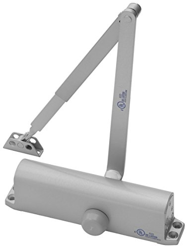 Yale 1101BF x 689 Door Closers, Aluminum Body, 689 Painted Aluminum Finish, Door Sizes 1 to 4 by Yale (Image #1)