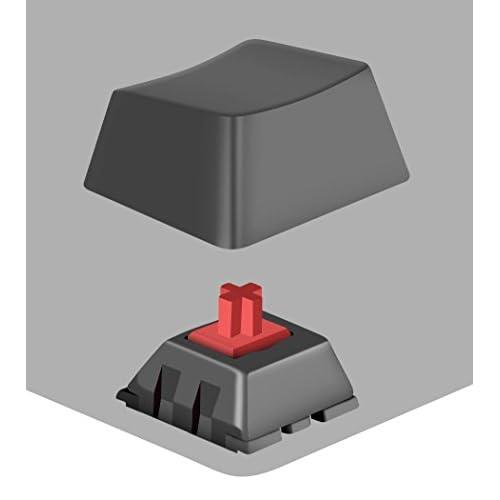 US-Layout Speedlink ULTOR Mechanical USB-Gaming Keyboard with LED Illumination SL-670008-BKRD-US N-Key Rollover 6 Macro Keys red