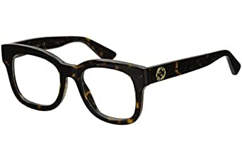 Amazon.com: Gucci - GG0033O-002 Optical Frame ACETATE