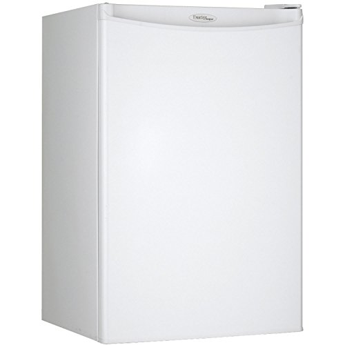 Danby DAR044A4WDD Compact Refrigerator, 115 V, 15 A, 1 Door, 4.4 cu.ft, All All Fridge White