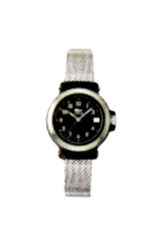 Lacoste 4000L 73 - Reloj analógico de mujer de cuarzo con correa de acero inoxidable plateada