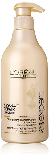 Loreal Expert Absolut Repair (L'oreal Professional Series Expert Absolute Repair Lipidium Shampoo for Unisex, 16.9 Ounce)