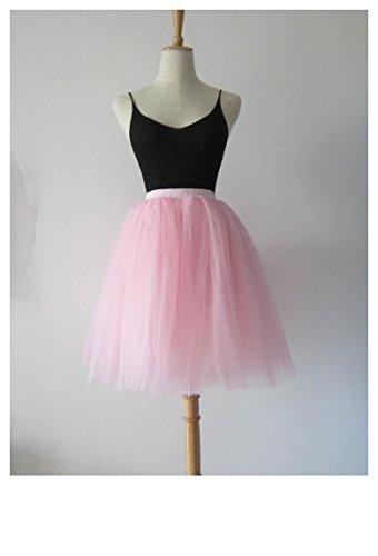 Cystyle - Vestido - globo - para mujer Rosa 1