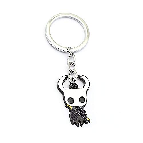 FITIONS - Game Hollow Knight Protagonist Keychain Metal Pendant Keychain Pendant Men Women Figure Chaveiro Charms Accessories