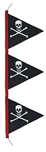 In the Breeze Pirate Pennant Outdoor Feather Banner, 8.5']()
