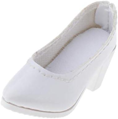sharprepublic フィギュア 人形 シューズ 靴 シューズサンダル 12インチアクションフィギュア用 全2カラー - 白い