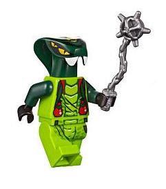 Lego Ninjago Spitta Minifigure (Lego Venomari Ninjago)
