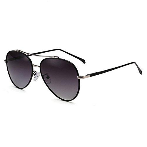 UV Hombres Negro Solar de UVA WYYY Sra Protección Rojo gafas sol 100 Protección Polarizada Decoración Anti Espejo Luz Clásico Color Retro AISRaqwSx