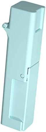 Fenteer ドアハンドル グリップ ドアハンドル プルクランプ 直接接触防止 対策 衛生自浄式 - 青