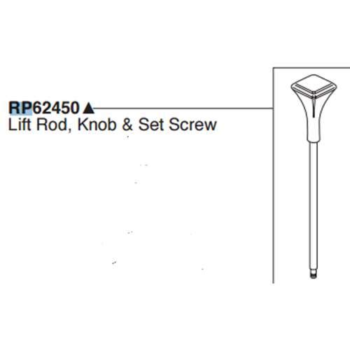- Brizo Virage Lift Rod Assembly RP62450PN- Pack of 2
