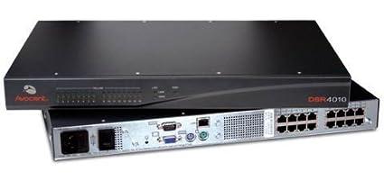 amazon com avocent dsr4010 am 16 port rack mountable kvm switch rh amazon com