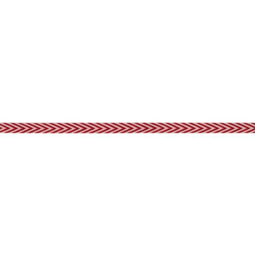 - May Arts Twill Chevron Stripes, 0.25-Inch by 50-Yard, Red by May Arts