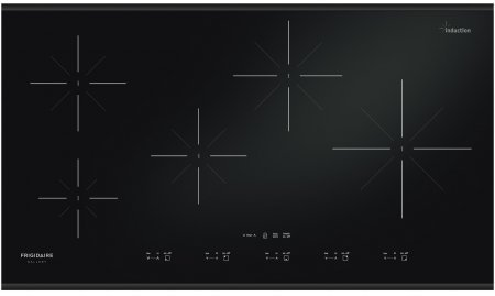 """Frigidaire FGIC3667MB Gallery 36"""" Black Electric Induction Cooktop"""