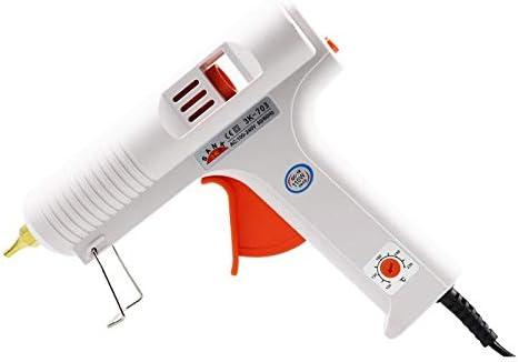 110W Hot Melt Glue Gun 100℃-220℃ Adjustable Constant Temperature Heater Hot Melt Glue Stick Tool Suitable For 11mm Glue Stick - (Plug Type: EU)