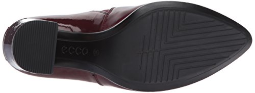 ECCO Shape 75 Pointy Block, Mocassini Donna Rosso (Morillo/Bordeaux)