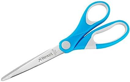 Rexel Joy Forbice Professionale in Acciaio con Impugnatura Ergonomica, Blu ACCO Brands 2104038