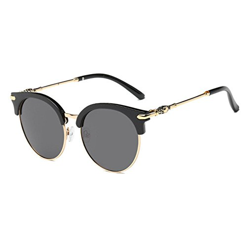 Aoligei Lunettes de soleil polarisées mâle et femelle couleur lumineuse retro lunettes de soleil tendance Iiog8u