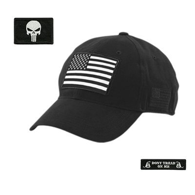 Amazon.com  Gadsden and Culpeper Build Your Tactical Cap with Patch ... a8833d15e5