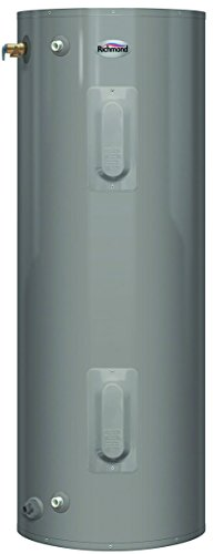 RHEEM T2V40-D 2492502 240V 4500W Richmond Essential Tall Electric Mobile Home Water Heater with Side T&P Relief Valve, 40 gallon
