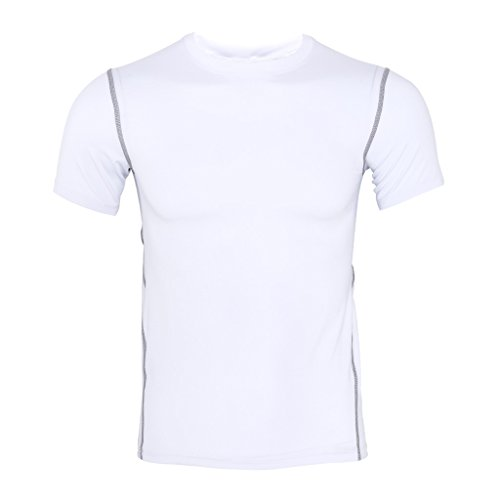 宇宙良性同じulkemeクイックドライメンズ半袖TシャツRunning Fitnessテニスサッカージムスポーツウェア