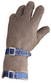 North by Honeywell A515XL D Whiting + Davis A515 Stainless Steel Mesh Ambidextrous Glove (1 Glove)