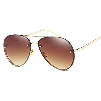 09071fd1f QiHorr(TM) Fashion Lens Mirror aviation Sunglasses Women Stylish Pilot Sun  Glasses Lady Men