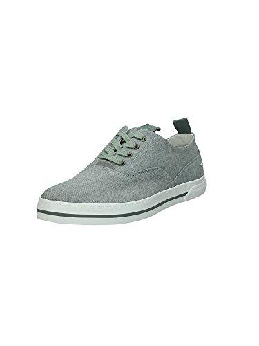 Zapatillas Sneakers Hombre Trussardi Mod. 77S055 Coronel Gris.