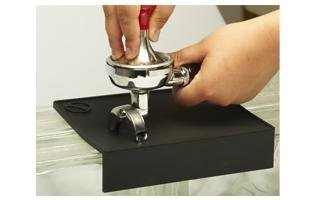 ESPRESSO TAMPING MAT WITH DROPPED EDGE