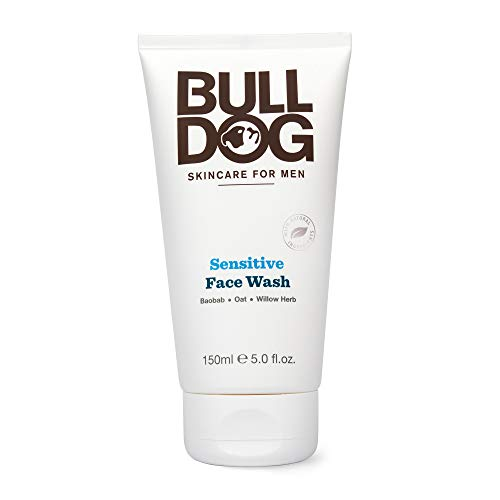 Bulldog Mens Skincare and Grooming Sensitve Face Wash, 5 Ounce