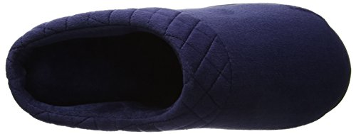 embr Azul Zapatillas Para peacoat Casa De Dearfoams W Estar Velour Por Mujer Back Closed 4wqnI7H