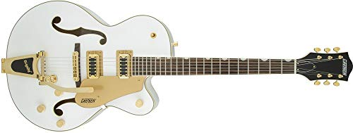 (Gretsch Guitars G5420T Electromatic Hollow Body Electric Guitar Snow Crest White )