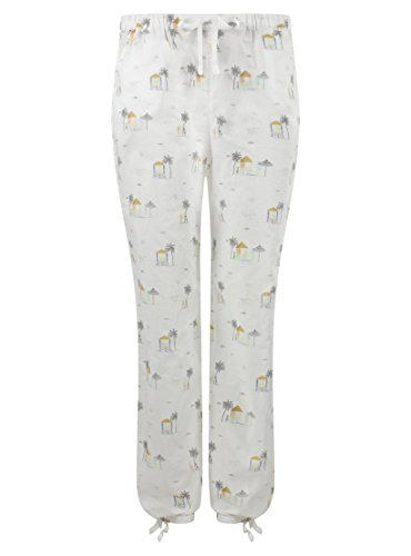Darjeeling - Pantalon Casita - Femme - Blanc