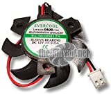 Evercool VC-EC5010M12S-B Video Card Fan 50mm x 10mm Round Frame