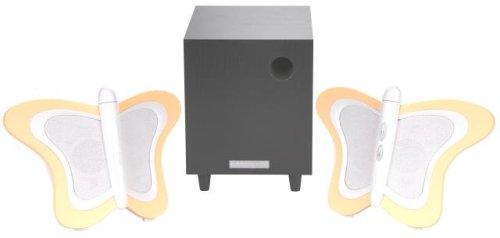 HANNspree Butterfly 2.1 Channel Speaker System (KS03-21U1-001) by Hannspree