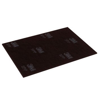 MCO96891 Scotch-Brite Surface Preparation Pad, 12 in x 18 in, Black/Gray by MCO96891