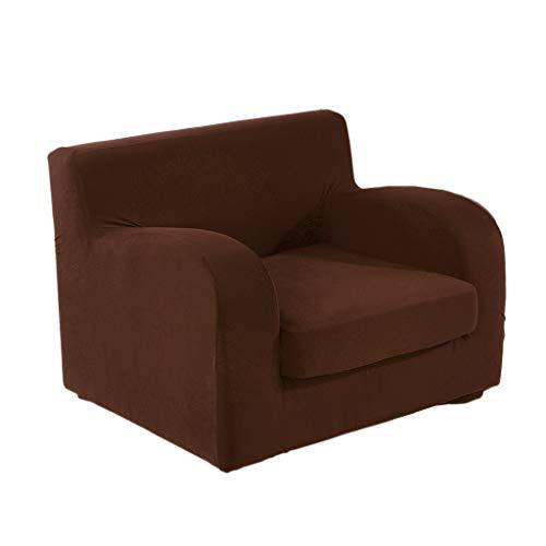 Fityle 2-Piece Jacquard Stretch Sofa Slipcover Cushion Cover