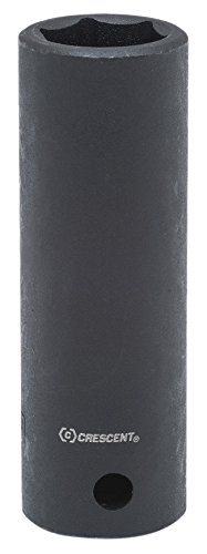 Crescent CIMS25 1/2' Drive, 3/4' Deep Impact Socket - 6 Point 3/4 Deep Impact Socket - 6 Point Crescent CIMS25 Home Hand Tools Sockets Impact