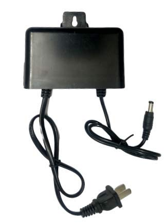 Indsun 12V 1Amp. Power Supply Adapter for Outdoor Use for Set Top Box, LED Strip, CCTC, Camera and Security Systems
