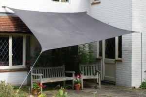 Amazon Com Kookaburra Waterproof Sun Sail Shade Charcoal Grey