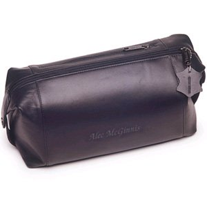 Personalized Leather Toiletry Kit – Free Personalization