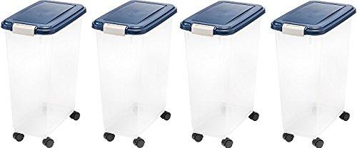 IRIS Airtight Food Storage Container (4-(Pack)) by IRIS USA, Inc.