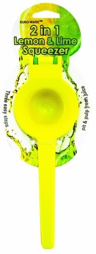 2-In-1 Lemon & Lime Squeezer Case Pack 36 Home Kitchen Furniture Decor