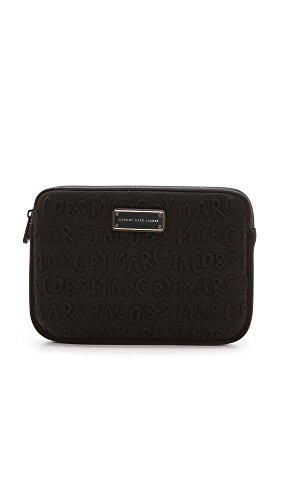 Price comparison product image Marc by Marc Jacobs Mini Tablet Case, Black, One Size