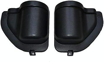 Car Door Pocket Storage Accessories for Jeep Wrangler JL JLU 2018-2019 4-Doors Bestmotoring Jeep JL ABS Door Storage Tray Organizer