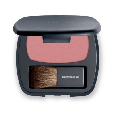 bareMinerals READY Blush for Women | Solid Mineral Powder | Powered by SeaNutritive Mineral Complex with Antioxidants and Cold-Pressed Camellia Oil | Shade: The One/Nude Pink | 6 g / 0.21 oz