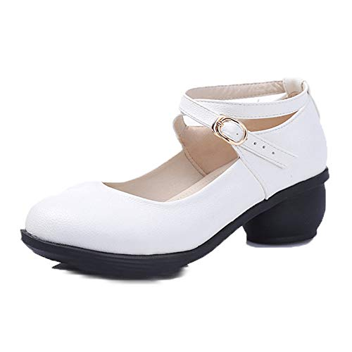 Dance Latin To Adult Shoes Cm Shoes Dance With 26 0 Soft Height Two White 0 Size Cm 5 Summer 22 Female Cow Cm rqr4nzRp